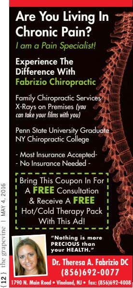 Are You Living In Chronic Pain? I am a Pain Specialist! Experience The Difference With