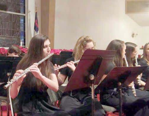 MONTH OF MUSIC AT CUMBERLAND CHRISTIAN SCHOOL May is a month of music by students at