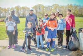 Millville Soccer Association Complex Cleanup Thank you to the Morales, Flaville and Mason families for
