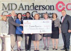 for details. Credit Union Donates to Ovarian Cancer Care South Jersey Federal Credit Union employees presented