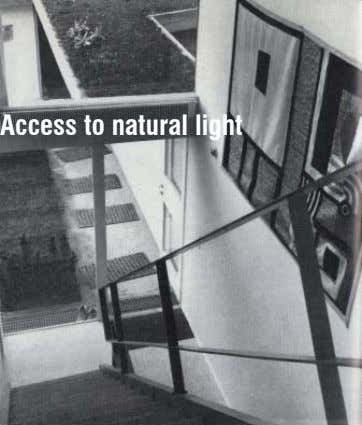 Access to natural light