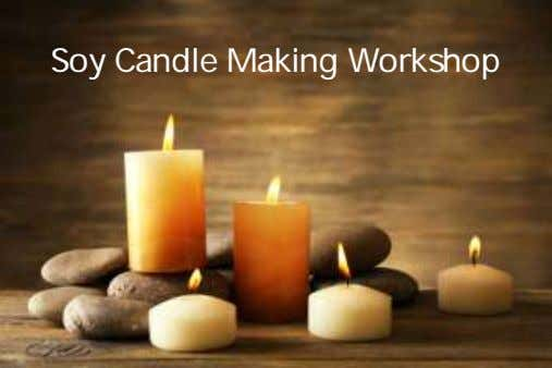 Soy Candle Making Workshop