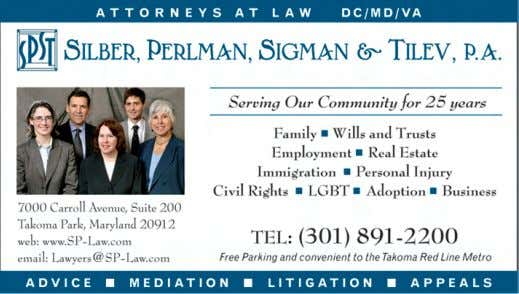 E-mail: steveweinbergdc@aol.com Licensed in DC, MD and VA Protect your partner with the right documents. spouse