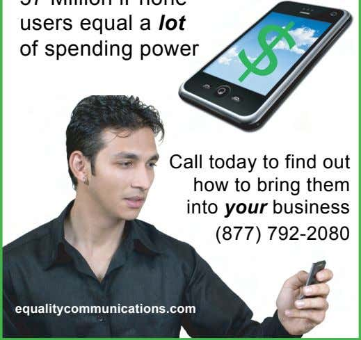 Call today to find out how to bring them into your business (877) 792-2080 equalitycommunications.com