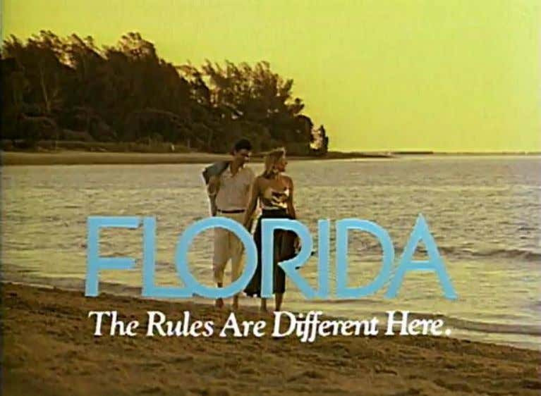 "Video still frame of ""The Rules Are Different Here"" ad campaign TV spot Groups who"
