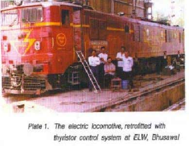 A WAG5 series locomotive (Loco number, 23026) was nominated for retrofitment. The locomotive was modified