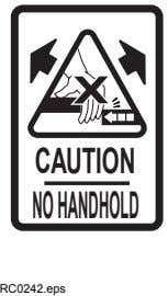 CAUTION NOHANDHOLD RC0242.eps