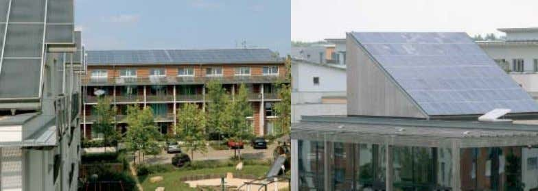 and the r emainder from the district heating network. 13 Solarcity Solarkollektoren | Solar thermal collectors