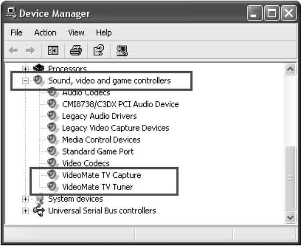 "game controllers"" se ction of Windows Device Manager. If these drivers are not there, uninstalling and"