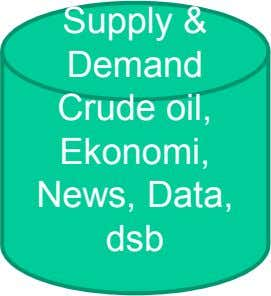 Su pp y l & Demand Crude oil, Ekonomi, News, Data, dsb
