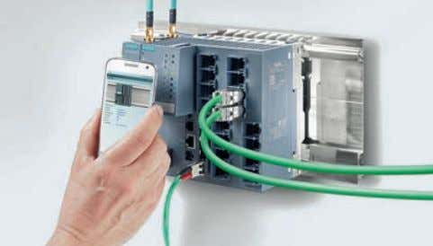 Simatic components Scalance XM-400 Switch to the future O ne thing that makes the new, efficient