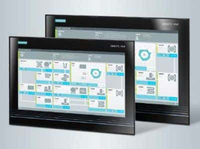 also be used for single-touch applications. siemens.com/ipc New features • New, innovative product design • Clear,
