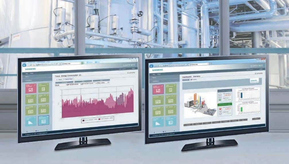 B.Data enables optimized and economical energy management. A chieving a sustainable increase in energy efficiency and