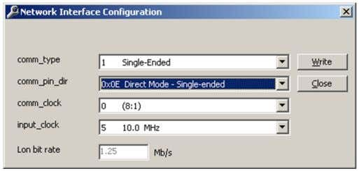 dialog. 6. De fi ne the settings shown in Figure 4.15. Figure 4.15: Network Interface Con