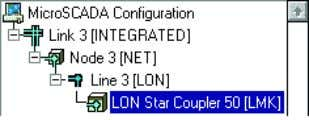 4. Enter the number planned for this device and click OK. Figure 4.22: LON Star Coupler
