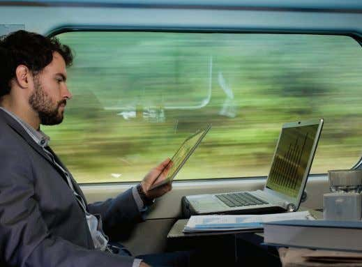 streaming content in both directions. FLUIDITY REQUIRES: • One or more radios on the train, depending