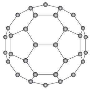 "altamente condutor e semicondutor . Carbono Fullerenos ""The first fullerene molecule to be discovered, and the"