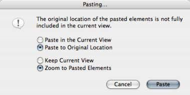"Location"" and ""Zoom to Pasted Elements"" options. 18 Graphisoft® ArchiCAD® Creating GDL Objects –"