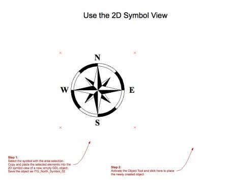 1. SAVING 2D SYMBOLS FROM THE FLOOR PLAN 2 Select the symbol with the area selection
