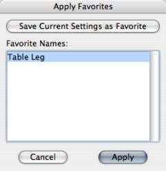"Select ""Table Leg"" from the list and click ""Apply"". 24 Graphisoft® ArchiCAD® Creating GDL Objects –"