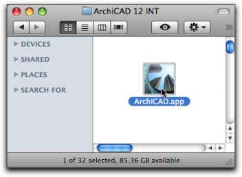 on your computer by double-clicking its desktop shortcut. The ArchiCAD splash screen will appear shortly after