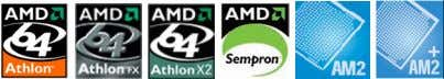 1.3.1 Product highlights Latest processor technology The motherboard supports AMD socket AM2 for Athlon 64/Athlon