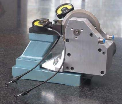 by means of X- and Y-coordinates - Diamond roller dressing device can be mounted alternatively on