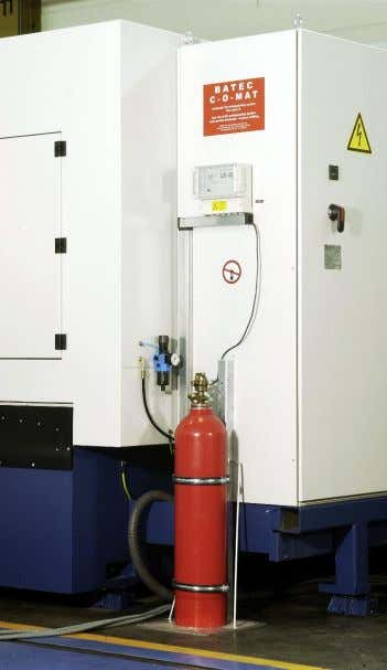 filter, magnetic separator and temperature stabilization. Feuerlöschanlage inklusive Steuerung Fire extinguisher