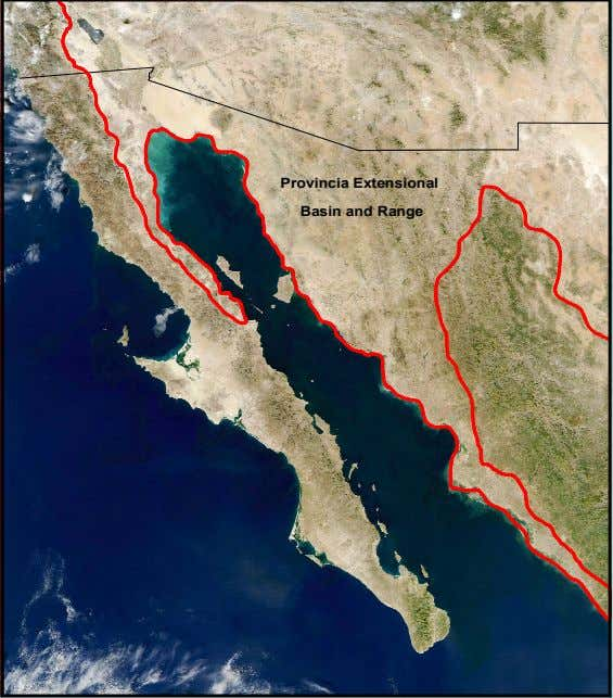 Provincia Extensional Basin and Range