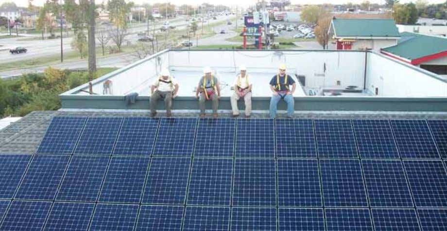 Third Sun Solar, Athens, is a design- build contractor for renewable energy systems, serving commercial,