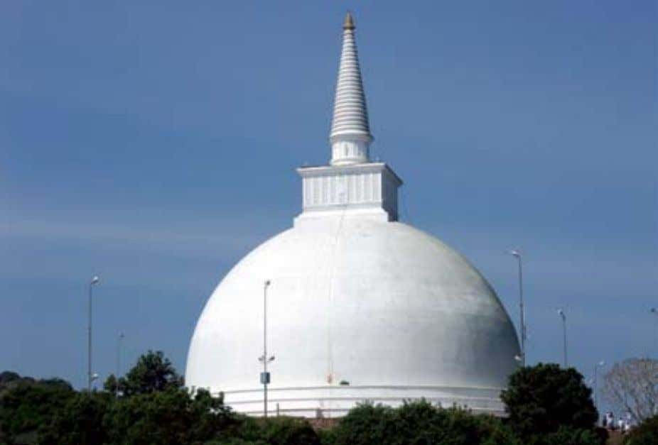The mahaseya stupa The mahinda stupa