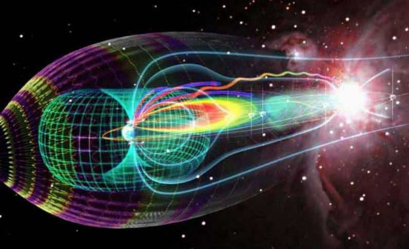 The Rose of the World - Earth's Magnetosphere The Holy Chalice, the Sun's Grai l