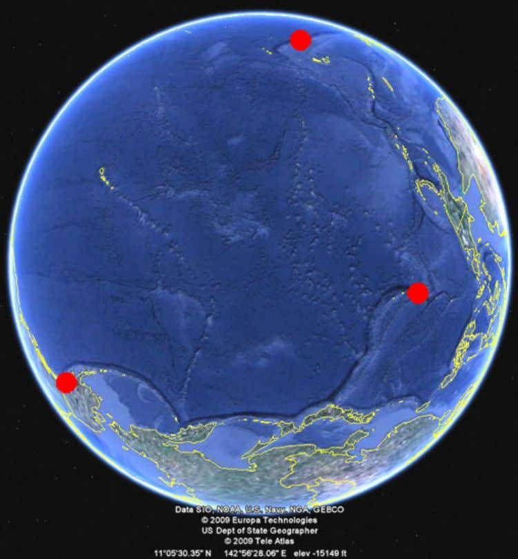 The Crack in the Liberty Bell Mariana-Trench Tonga-Trench Radioisotope-Thermoelectric -Generator of Apollo 13, deep in