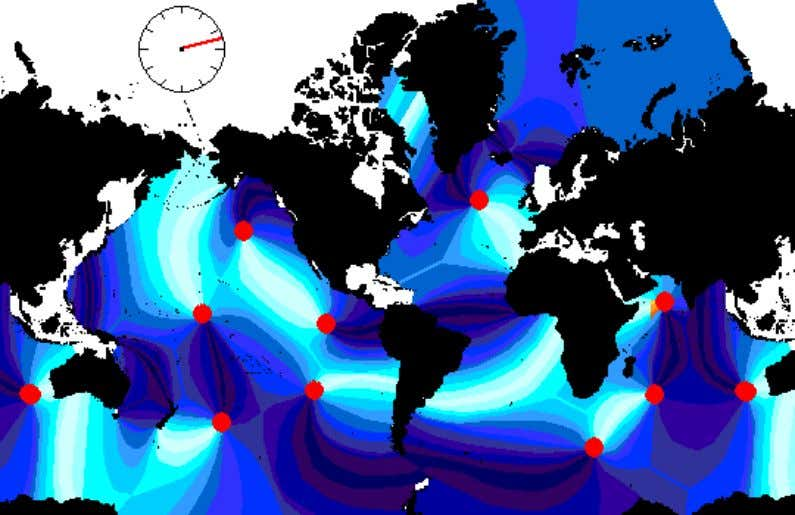 Mariana trench GPS displacement Tides Affect Earth's Rotation