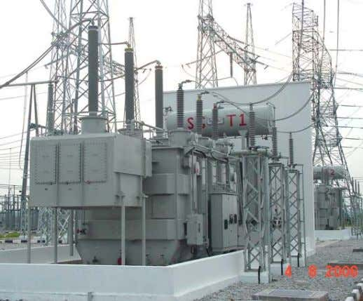 Power Transformers : Provides transformation of electric power from one voltage level to another at constant