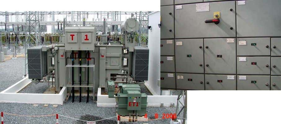 Load Center, Motor Control Center, AC Distribution Panel, DC Distribution Panel, Battery Bank, Battery Charger, etc.)