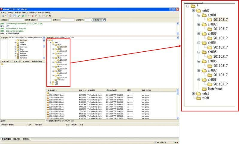 Moxa MxNVR-IA8 System Configuration NOTE Only the Administrator can download the recorded video files via FTP.