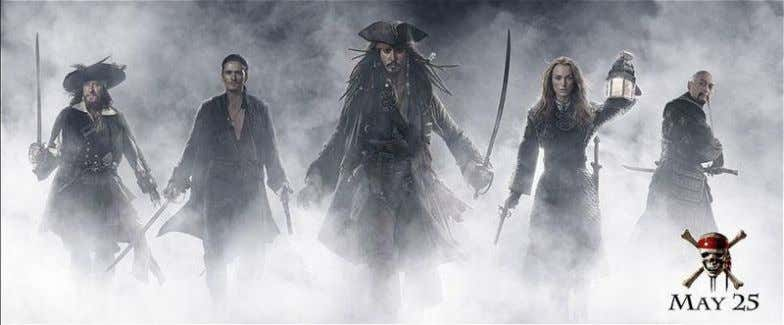 The Movie Pirates of the Caribbean: At World's End is a 2007 adventure film , the