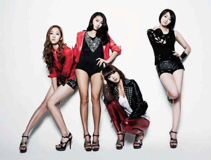 of women in the South Korean entertainment industry. Picture 10: Sistar in a 2011 promotional photo.