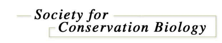 We invite you to join the SCB—the premier international scientific conservation society. Why become a