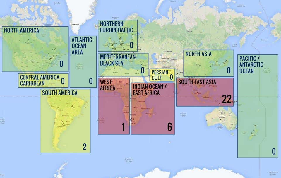 the US ONI monthly report (North America, West Africa, Persian Gulf etc.). © officerofthewatch.com , 2013
