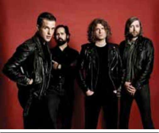 My Valentine and special guests Halestorm. MW €25 American pop-rockers The Killers will perform at the