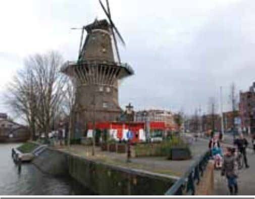 plucked off the road by police each year. Basics Basics 9 Amsterdam's tallest windmill - De