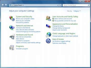 "● For Windows 7 ・ Click ""System and Security"". ・ Click ""Choose what closing the lid"