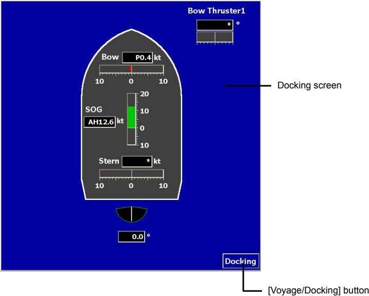Docking screen [Voyage/Docking] button
