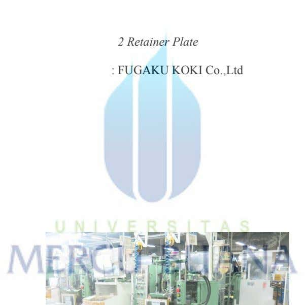: 35 Tons : 2 Retainer Plate : FUGAKU KOKI Co.,Ltd : 1990 : 1550