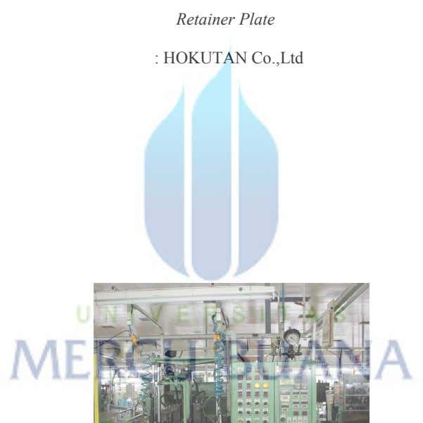 : 2 Retainer Plate : HOKUTAN Co.,Ltd : 1985 : 2500 mm x 2100 mm