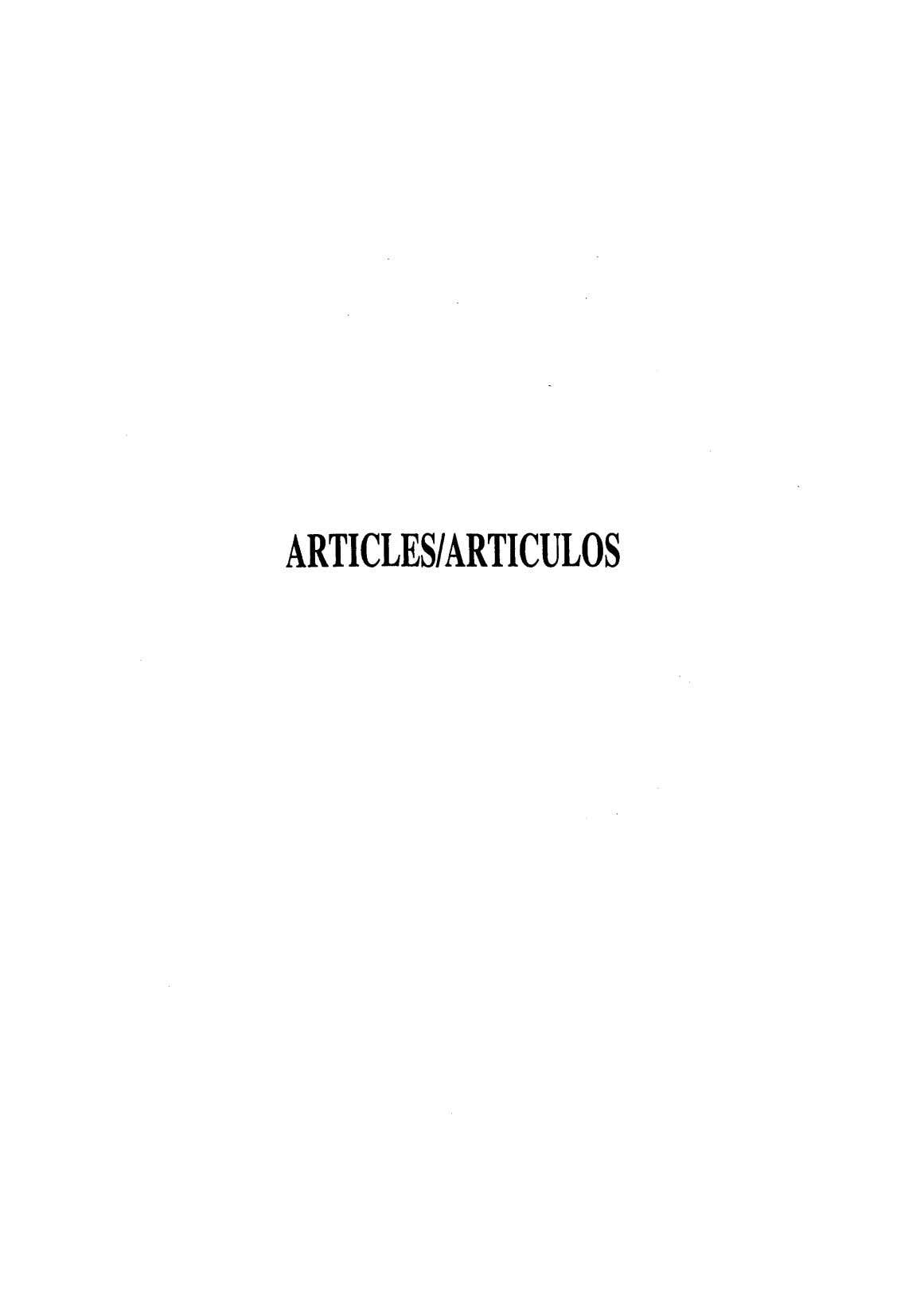 ARTICLESIARTICULOS