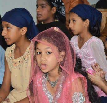probably need RM3 million to build the four- storey complex. Young Punjabi girls singing hymns at