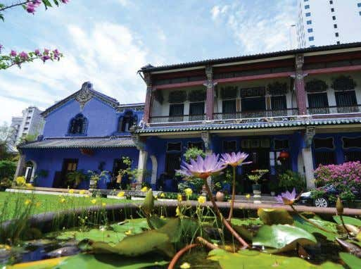 Tze Mansion which has been named by Lonely Planet as one of the top ten World's